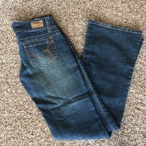 Hydraulic Flare Jeans Size 3/4